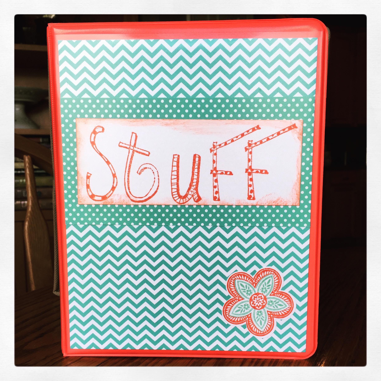 """Stuff"" Binder"