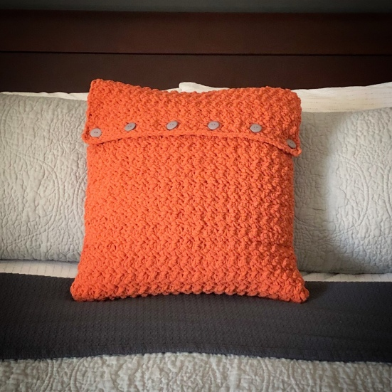 Cozy Chunky Crochet Pillow Cover Creating Me